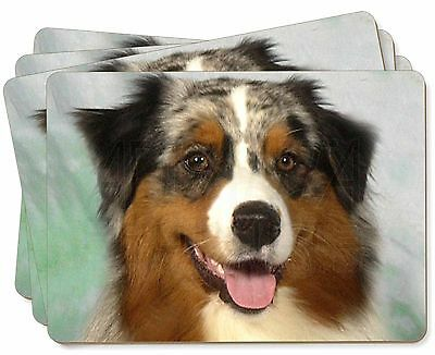 Australian Shepherd Dog Picture Placemats in Gift Box, AD-AS1P