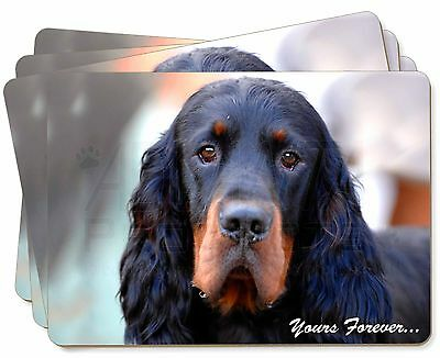 Gordon Setter 'Yours Forever' Picture Placemats in Gift Box, AD-GOR2yP