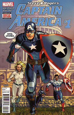 CAPTAIN AMERICA Steve Rogers (2016) #1 - 2nd Print - New Bagged