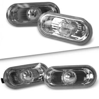 Vw T5 Transporter Oem Crystal Clear Side Repeaters Indicators Upgrade Trim Pair