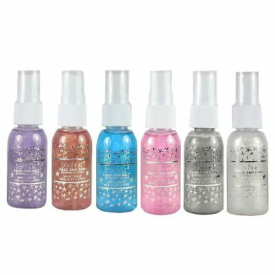 Technic Glitter Face & Body Spray For Hair Roots Festival Unicorn Colours