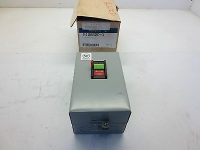 Manual Starter In Westinghouse B100S0S-A for PIV Motors in Alan III & IV