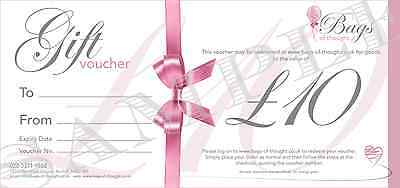 Gift Voucher - £10.00 - Candles - Home Decor - Gift Sets - Party Bags and more