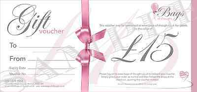 Gift Voucher - £15.00 - Candles - Home Decor - Gift Sets - Party Bags and more!