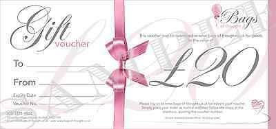 Gift Voucher - £20.00 - Highly Scented Perfume and Aftershave Candles!