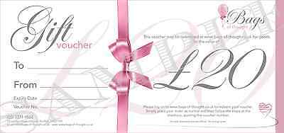 Gift Voucher - £20.00 - Candles - Home Decor - Gift Sets - Party Bags and more!