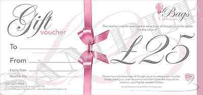 Gift Voucher - £25.00 - Candles - Home Decor - Gift Sets - Party Bags and more!