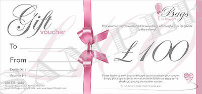 Gift Voucher - £100 - Highly Scented Perfume and Aftershave Candles