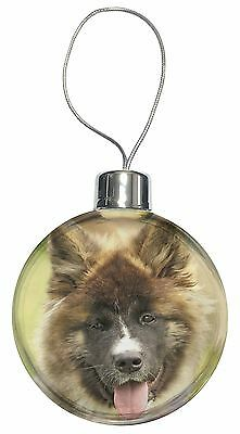 Beautiful Akita Dog Christmas Tree Bauble Decoration Gift, AD-A4CB