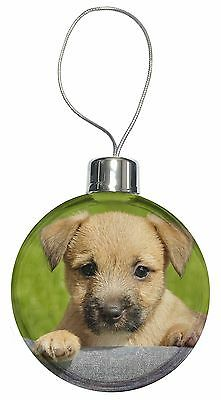 AT-CT2CB Brindle Cairn Terrier Dog Christmas Tree Bauble Decoration Gift