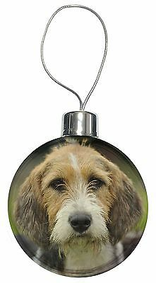 Welsh Fox Terrier Dog Christmas Tree Bauble Decoration Gift, AD-FT4CB
