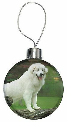 Pyrenean Mountain Dog Christmas Tree Bauble Decoration Gift, AD-PM1CB
