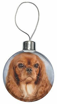 AD-SKC57lymCB Cavalier King Charles /'Love You Mum/' Christmas Tree Bauble Decora