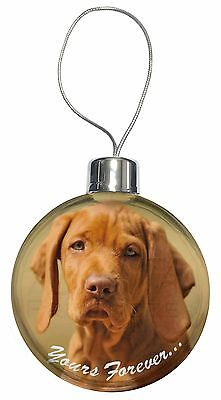 Hungarian Visla 'Yours Forever' Christmas Tree Bauble Decoration Gift, AD-V2yCB