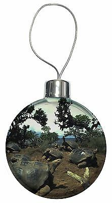Galapagos Tortoise Christmas Tree Bauble Decoration Gift, AR-T11CB