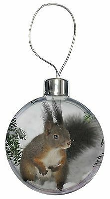 Forest Snow Squirrel Christmas Tree Bauble Decoration Gift, AS-4CB