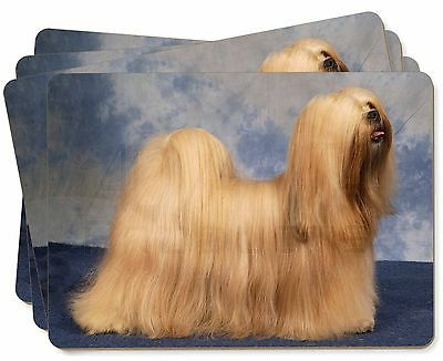 Lhasa Apso Dog Picture Placemats in Gift Box, AD-LA1P