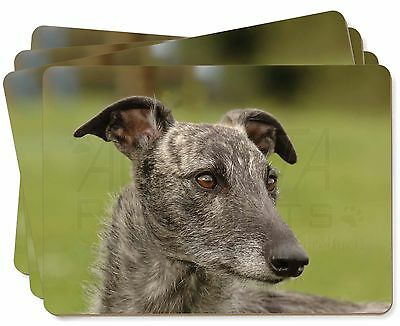 Lurcher Dog Picture Placemats in Gift Box, AD-LU1P