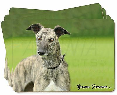 Greyhound Dog 'Yours Forever' Picture Placemats in Gift Box, AD-LU7yP