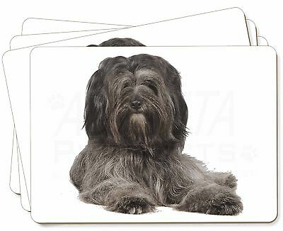 Tibetan Terrier Dog Picture Placemats in Gift Box, AD-TT2P