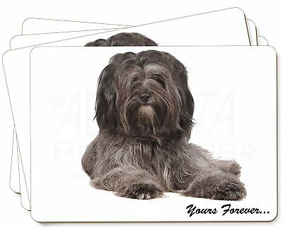 Tibetan Terrier 'Yours Forever'  Picture Placemats in Gift Box, AD-TT2yP