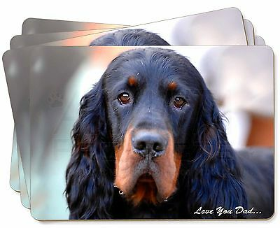 Gordon Setter 'Love You Dad' Picture Placemats in Gift Box, DAD-38P