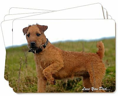 Lakeland Terrier 'Love You Dad' Picture Placemats in Gift Box, DAD-73P