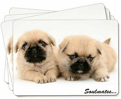Pugzu Puppy Dogs 'Soulmates' Picture Placemats in Gift Box, SOUL-42P