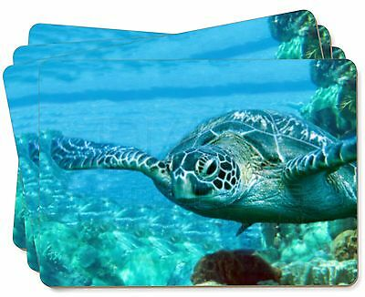 Turtle by Coral Picture Placemats in Gift Box, AF-T20P