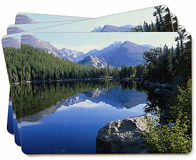 Tranquil Lake Picture Placemats in Gift Box, W-2P