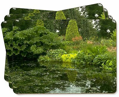 Garden Pond Picture Placemats in Gift Box, W-3P