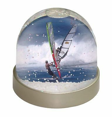 Wind Surfers Surfing Photo Snow Globe Waterball Stocking Filler Gift, SPO-WS3GL
