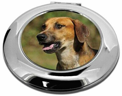 Foxhound Dog Make-Up Round Compact Mirror Christmas Gift, AD-FH1CMR