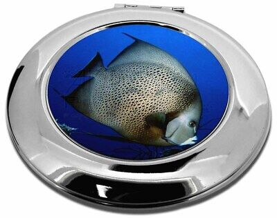 Funky Fish Make-Up Round Compact Mirror Christmas Gift, AF-23CMR