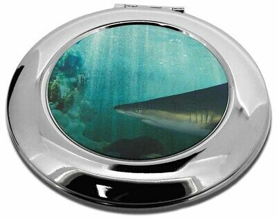 Shark Photo Make-Up Round Compact Mirror Christmas Gift, AF-SHA1CMR