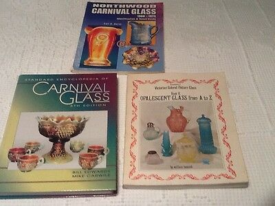 Id Guide Book Encyclopedia Carnival Glass Victorian Patt Opalescent