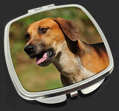 Foxhound Dog Make-Up Compact Mirror Stocking Filler Gift, AD-FH1CM