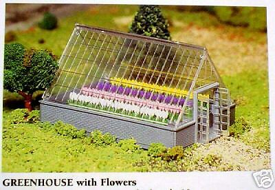 Bachmann O Scale Kit 45615, Green House With Flowers