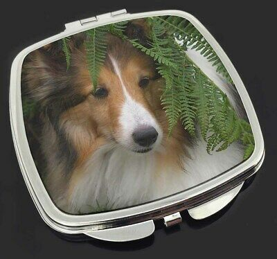 Shetland Sheepdog Make-Up Compact Mirror Stocking Filler Gift, AD-SE34CM
