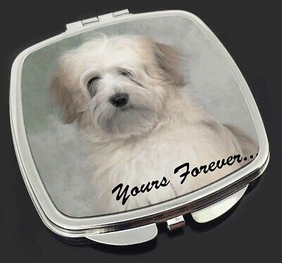 Tibetan Terrier 'Yours Forever' Make-Up Compact Mirror Stocking Fille, AD-TT1yCM