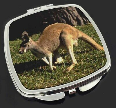 Kangaroo Make-Up Compact Mirror Stocking Filler Gift, AK-2CM