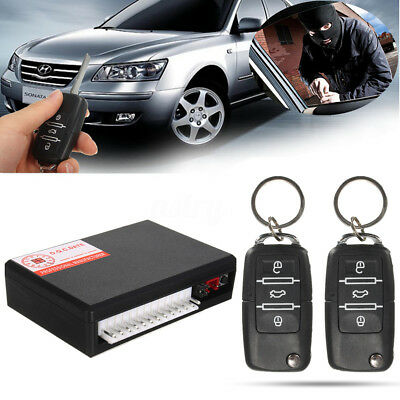 Universal Remote Car Control Door Central Lock Auto Locking Keyless Entry System
