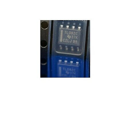 20Pcs Tl082 Ic Ti Sop 8 Jfet-Input Operational Amplifiers