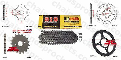 DID- Heavy Duty Chain Kit 15t 53t 428HD 130 fits Honda MTX125 83-94