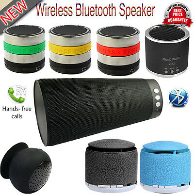 Wireless Bluetooth Portable Mini Speakers For Samsung iPhone iPad Laptop UK Lot