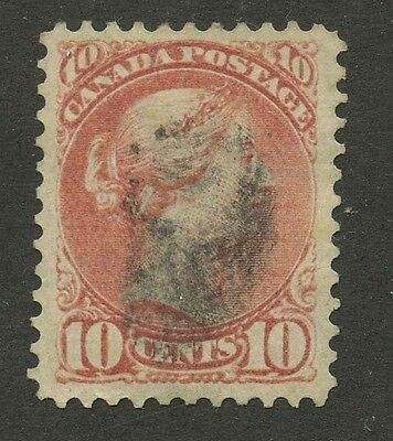 Canada 1897 Small Queen 10c brown red #45 VF used
