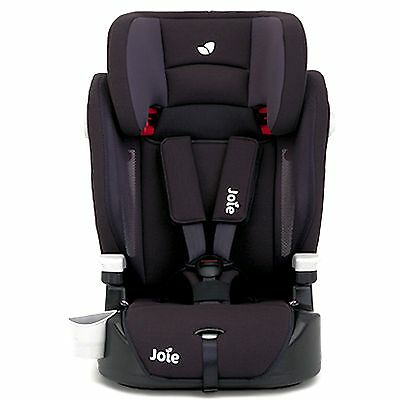 New Joie Elevate Group 1 2 3 Car Seat Two Tone Black Approx 9 Months To 12 Years