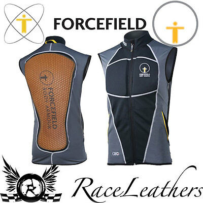 Forcefield Zip Up Airo Chest Plate And Back Protector Sleeveless Waist Coat