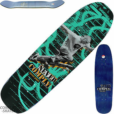 """STREET PLANT """"Never Comply"""" Skateboard Deck 8.5"""" x 32"""" Mike Vallely Park Street"""