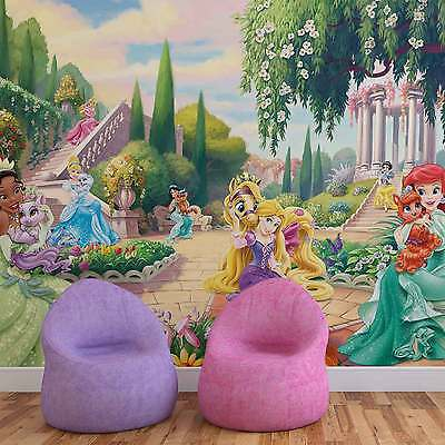 Disney Princesses Tiana Ariel Aurora WALL MURAL PHOTO WALLPAPER (2488DK)
